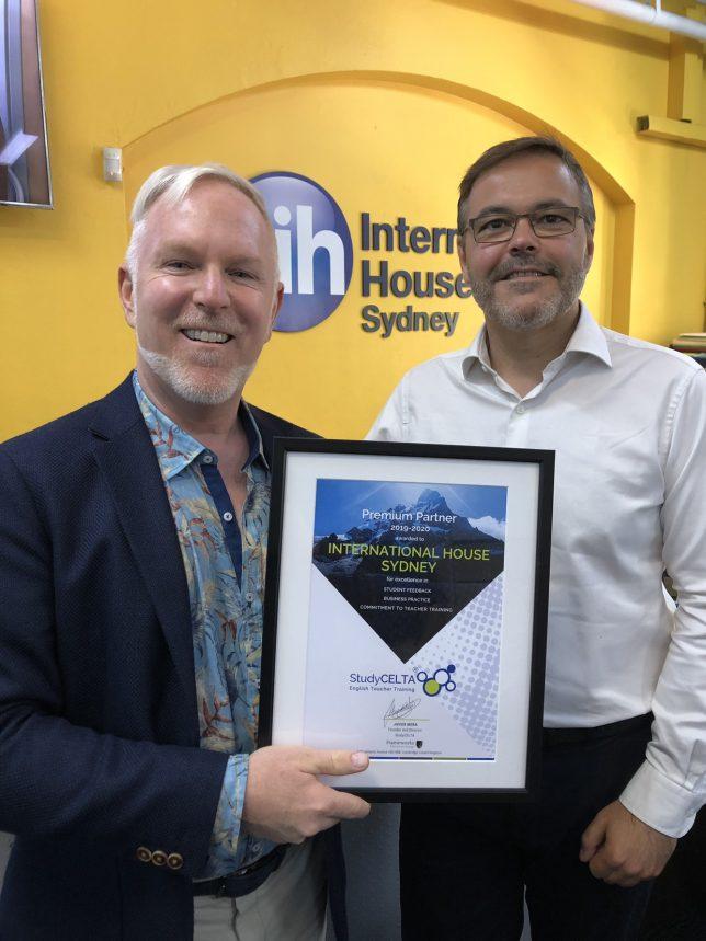International House Sydney Premium Partner Award