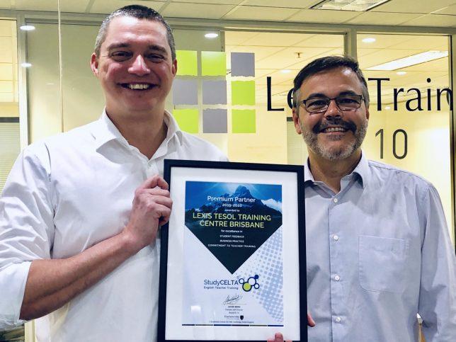 Lexis TESOL Premium Partner Award